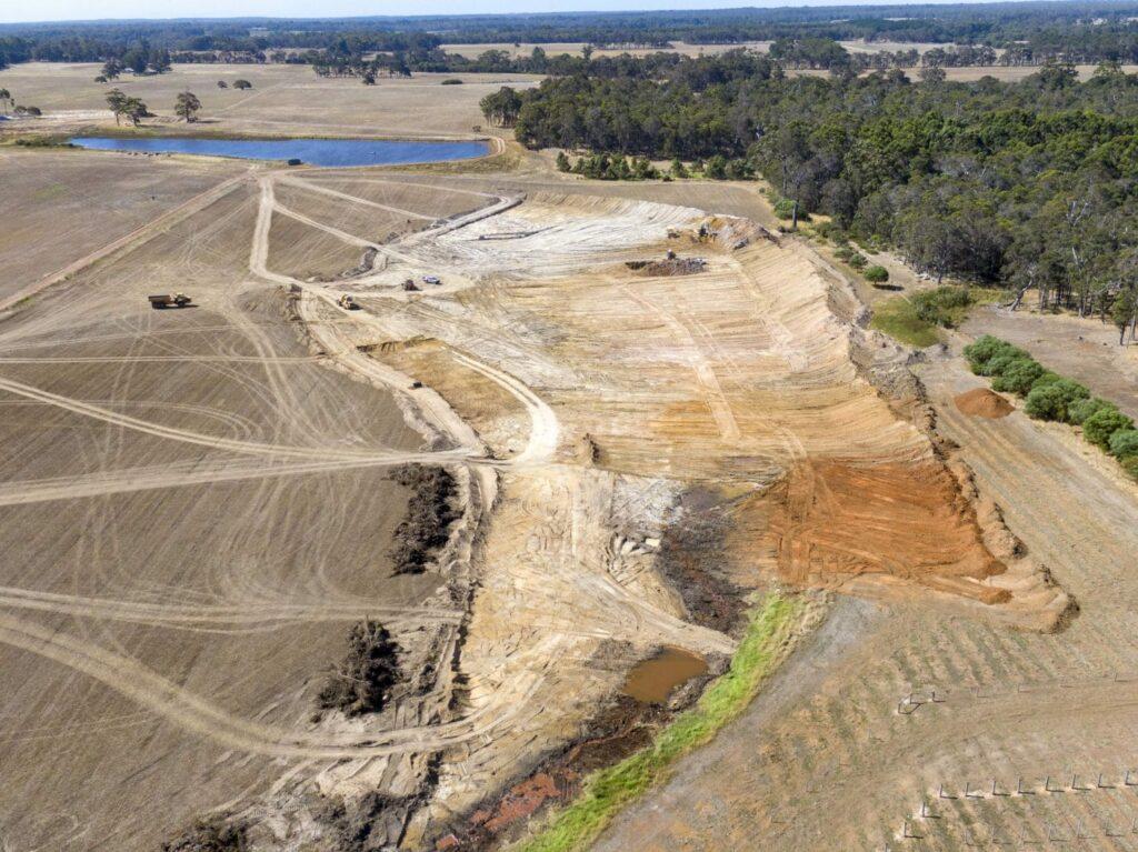 Construction update: dam building 1