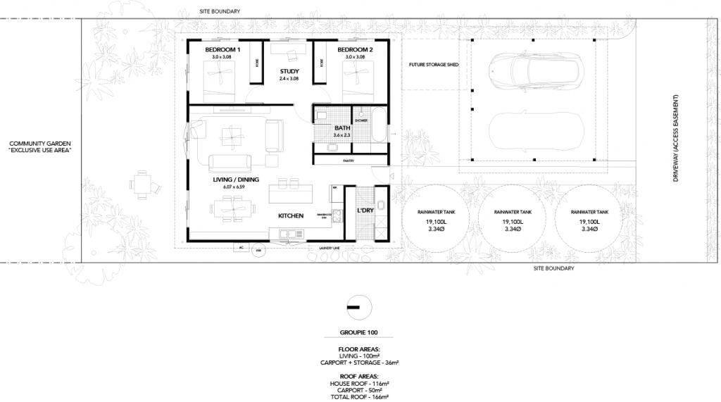 The Settler - Groupie 100 - Ecovillage 2