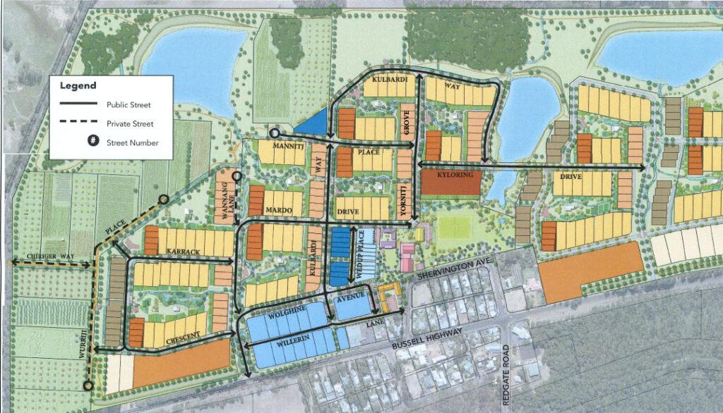 New Ecovillage street addresses 1