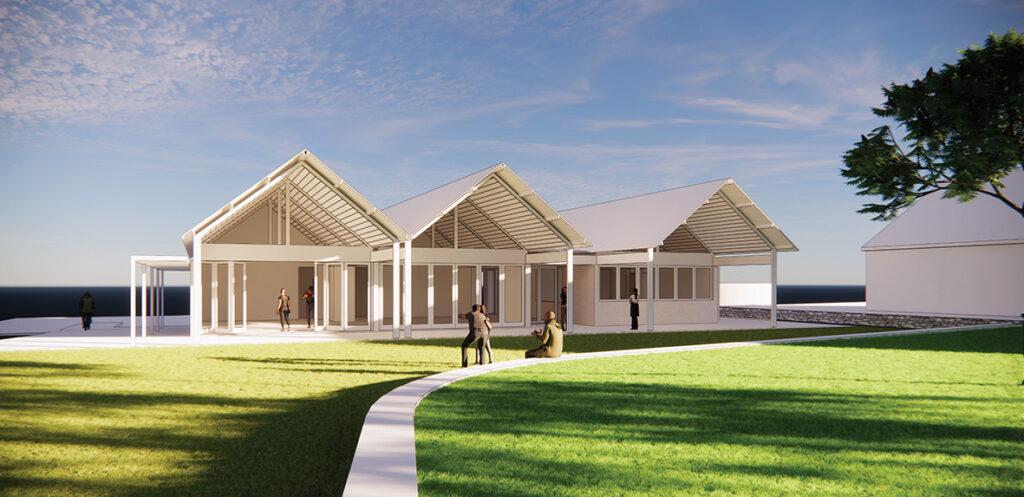 The Ecovillage Community Centre takes shape 1